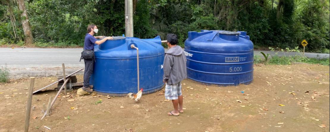 Caixas d'água comunitárias